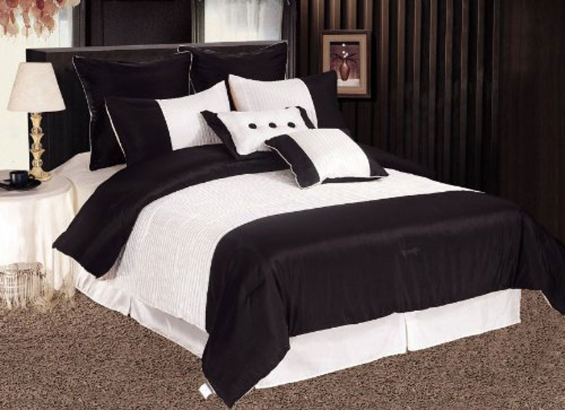 Featured Image of Black White Bedroom Designs