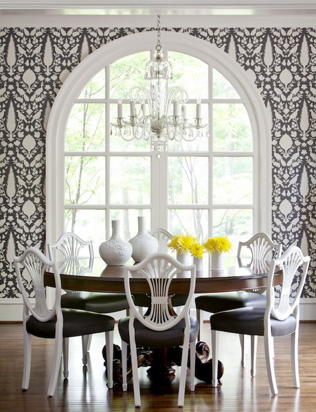 Featured Image of Black White Dining Room Decoration Ideas