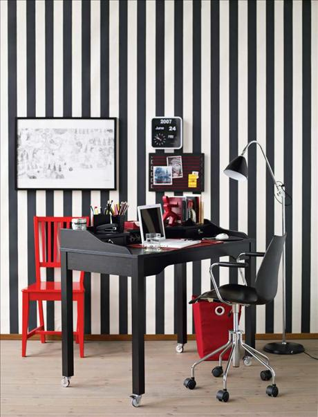 Featured Image of Black White Home Office Interior Ideas