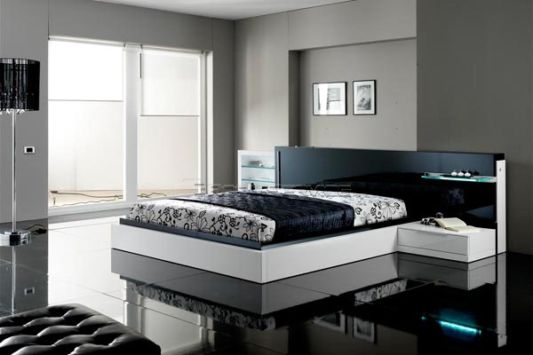 Featured Image of Black White Modern Bedroom Ideas