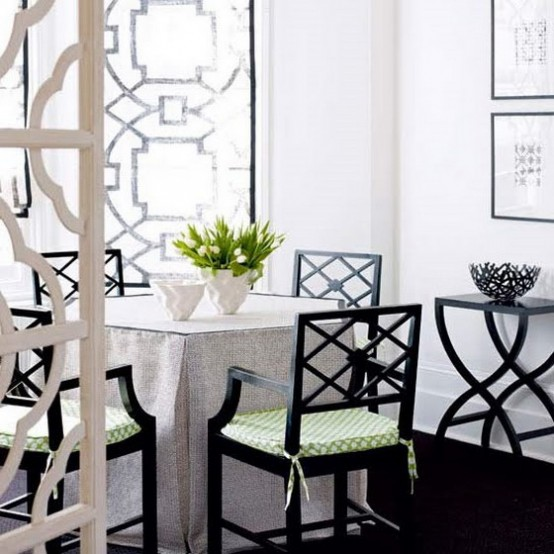 Featured Image of Black White Small Dining Room Ideas