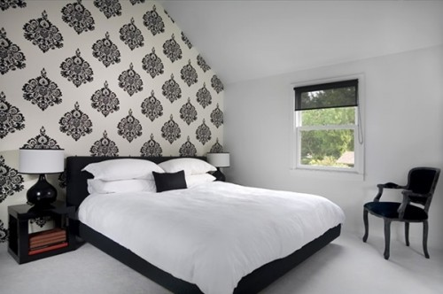 Featured Image of Black White Themed Bedroom Interior Ideas