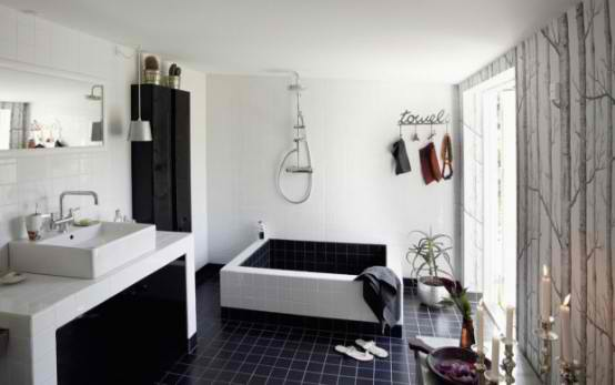 Featured Image of Black And White Bathroom Ideas