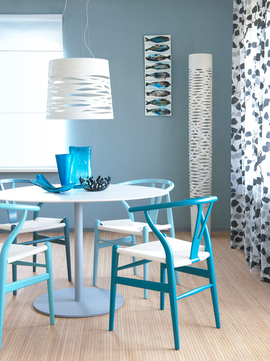 Featured Image of Blue Dining Room Paint Color Ideas