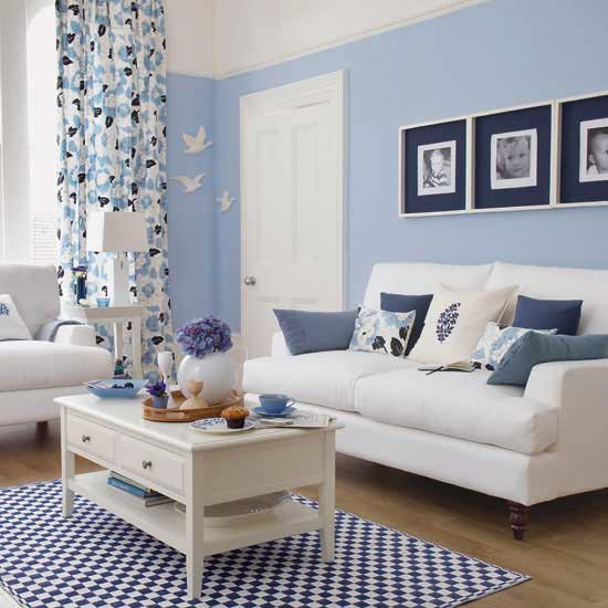 Featured Image of Blue Living Room Colors Ideas
