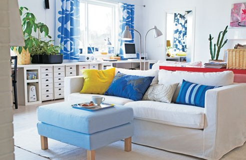 Featured Image of Blue Living Room Colors