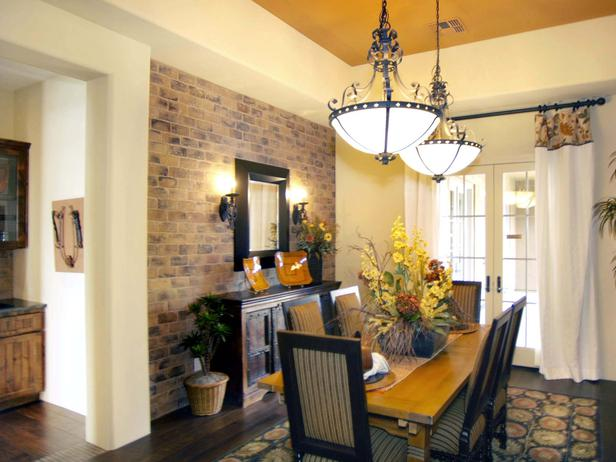 Featured Image of Bricks Dining Room Design
