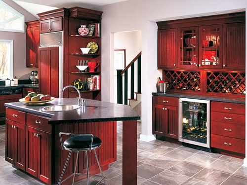 Featured Image of Burgundy Kitchen Ideas