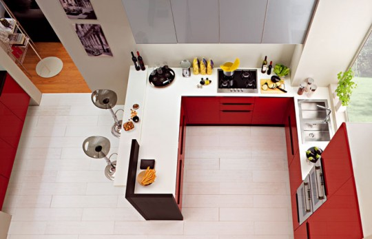Featured Image of Burgundy Kitchen Inspiration Ideas