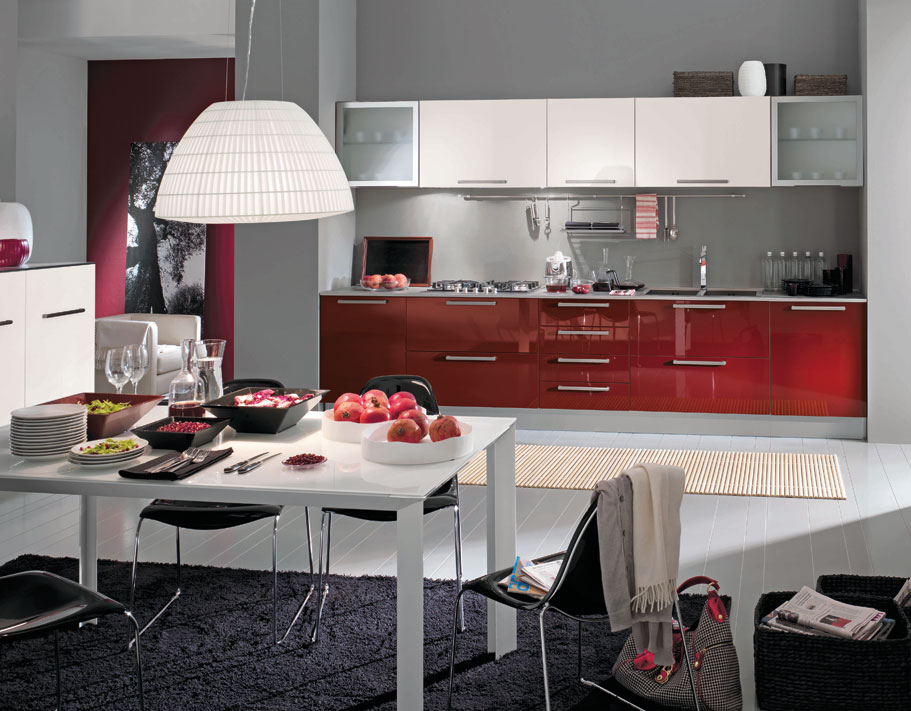 Featured Image of Burgundy Kitchen Interior Ideas