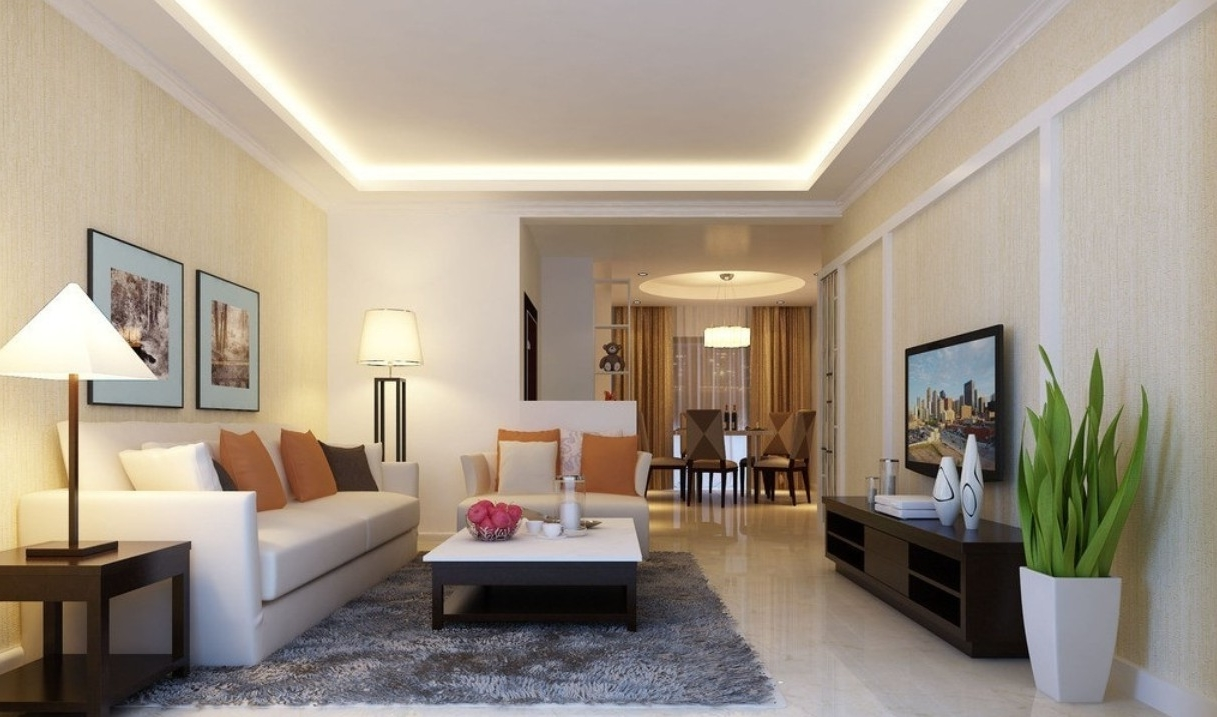 Featured Image of Ceiling Design For Living Room
