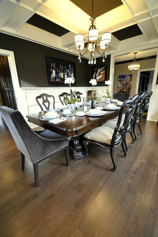 Featured Image of Classic Dining Room In Luxury Design