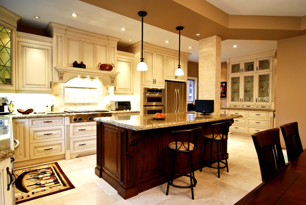 Featured Image of Classic European Kitchen With Luxury Look