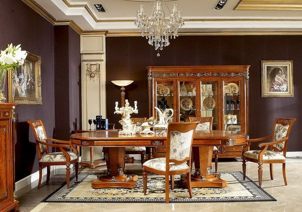 Featured Image of Classic Furniture Long Dining Table