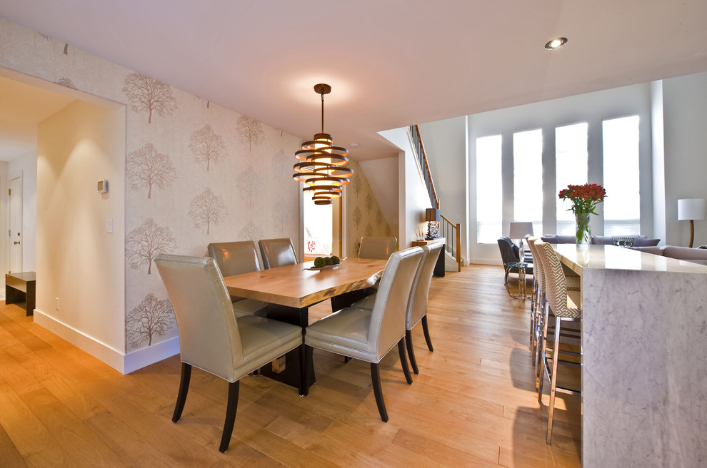 Featured Image of Classic Wooden Dining Room Table For Contemporary Interior