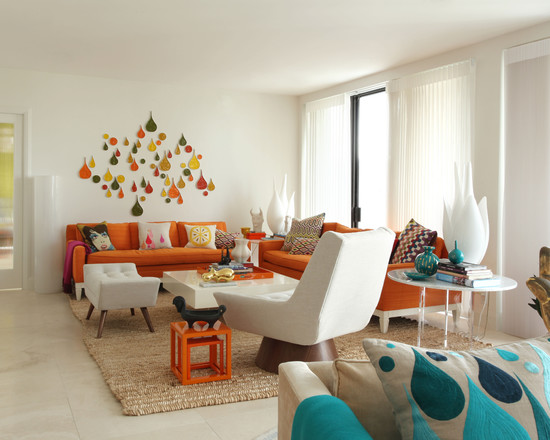 Featured Image of Colorful Living Room Furniture Ideas