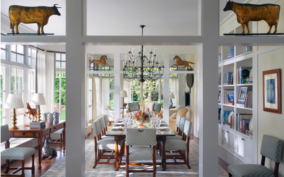 Featured Image of Comfy American Dining Room In Country Style