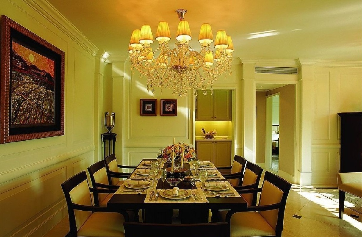 Featured Image of Contemporary Chandelier For Best European Dining Room