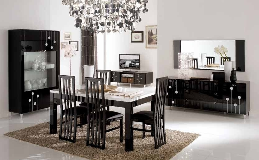 Featured Image of Contemporary European Dining Room Furniture And Cabinet Ideas