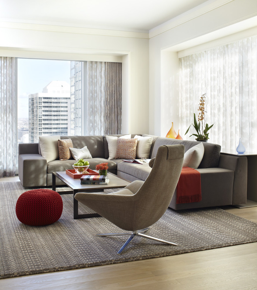 Featured Image of Contemporary Formal Apartment Living Room