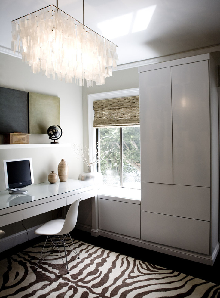 Featured Image of Contemporary Home Office In Luxury Look