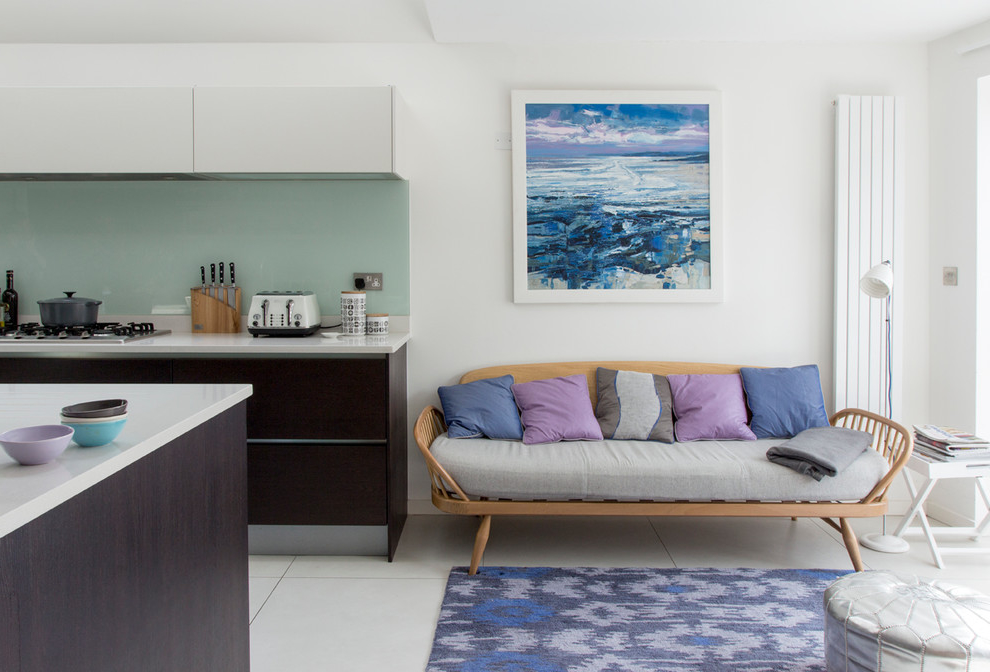 Contemporary Living Room Color Scheme For Apartment (View 11 of 11)