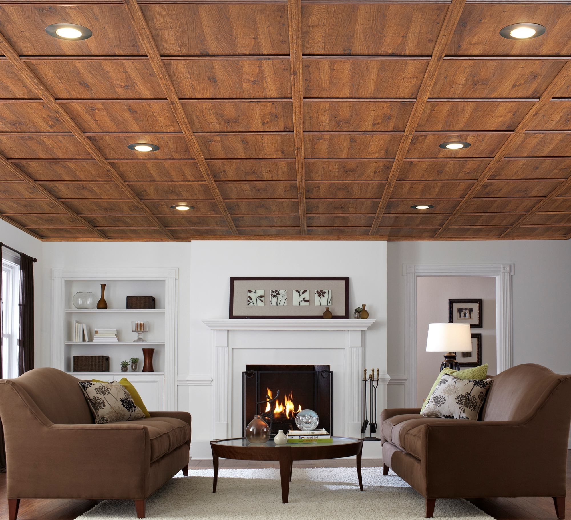 basement wood ceiling ideas. Featured Image of Contemporary Wood Plank Ceiling  9187 House Decoration Ideas