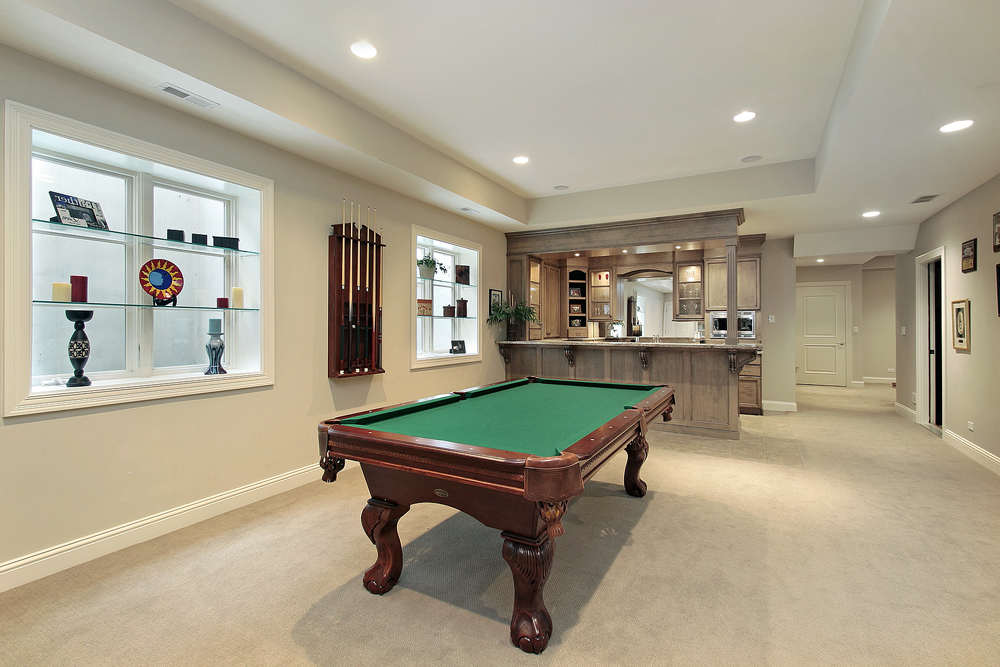 Featured Image of Cozy Basement Renovation To Kitchen And Playroom Combo