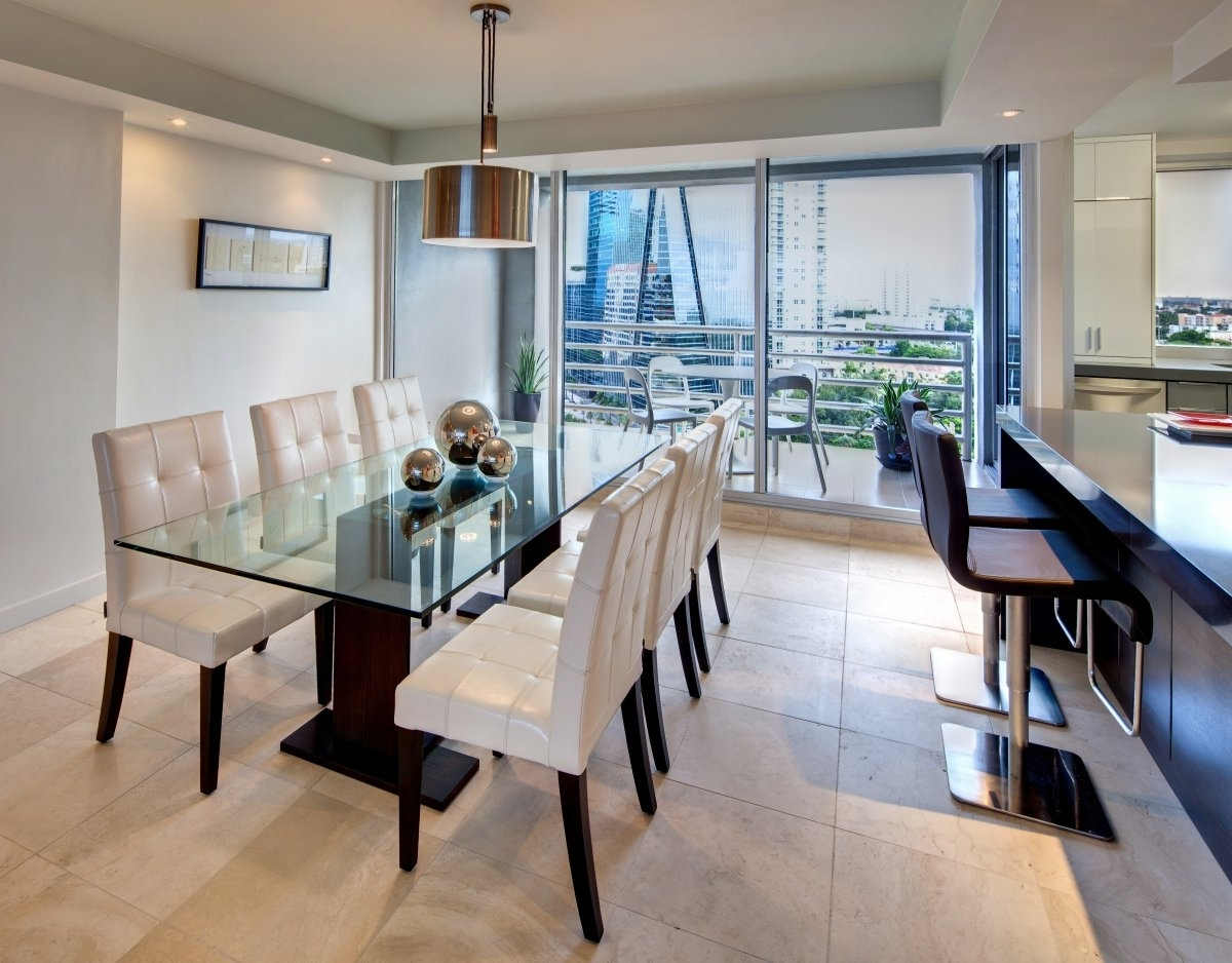 Featured Image of Cozy Dining Room And Kitchen In Elegant Nuance