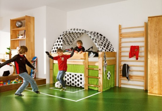 Featured Image of Creative Children Room Decoration Football Theme
