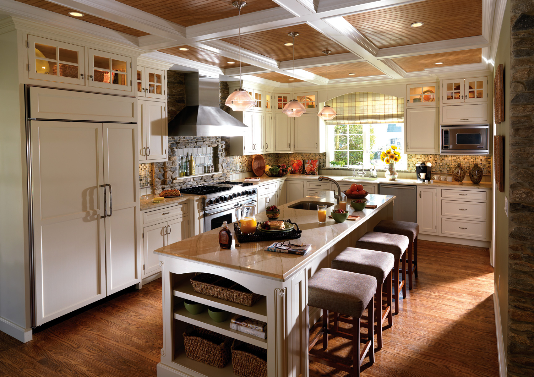 Featured Image of Custom Drop Ceiling In Kitchen