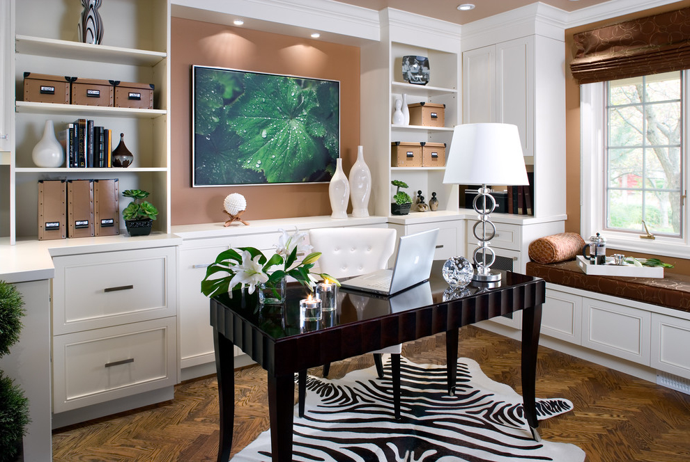 Featured Image of Decorate Contemporary Home Office Fresh Design