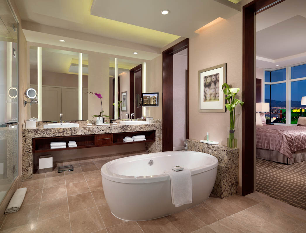 Featured Image of Deluxe Bathroom Remodel