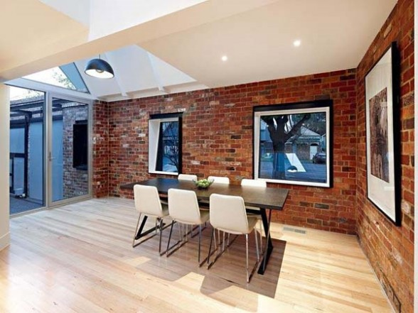 Featured Image of Dining Room With Bricks Wall