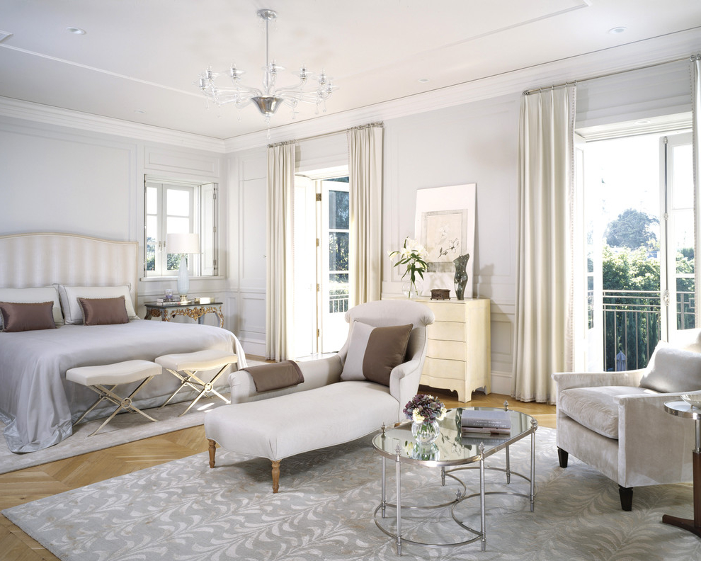 Featured Image of Elegance White Bedroom Interior