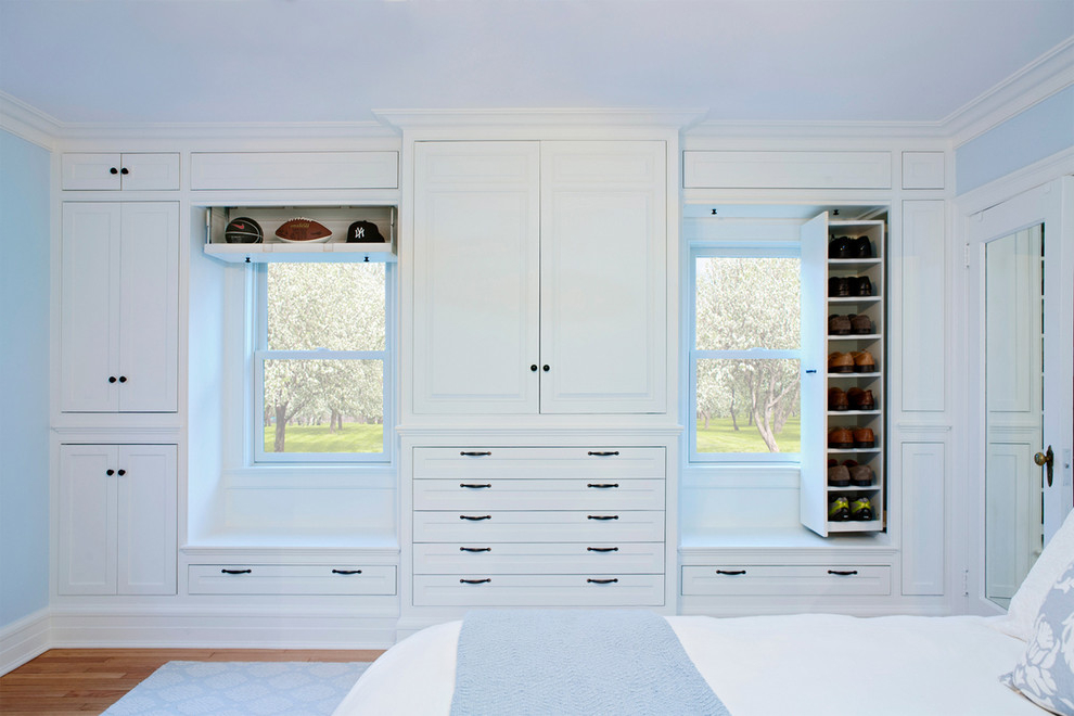 Featured Image of Elegance White Bedroom Storage