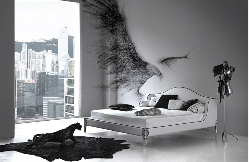 Featured Image of Elegant Black White Bedroom Inspiration Ideas
