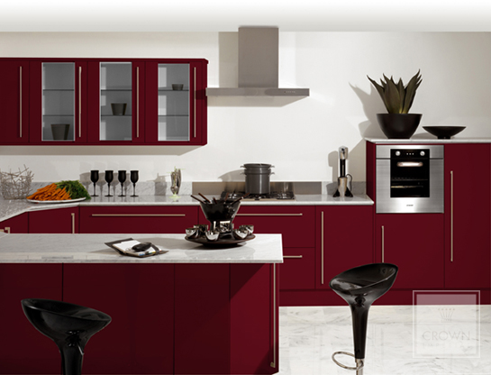 Featured Image of Elegant Burgundy Kitchen Ideas