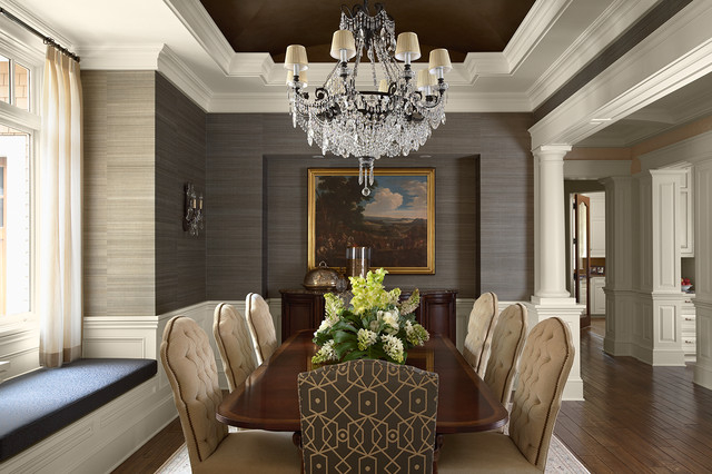 Featured Image of Elegant Luxury Dining Room Decoration Ideas
