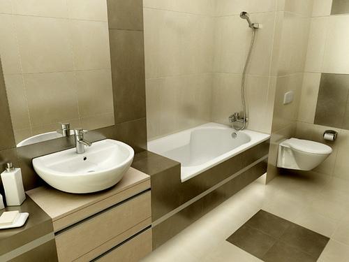 Featured Image of Elegant Minimalist Bathroom Design