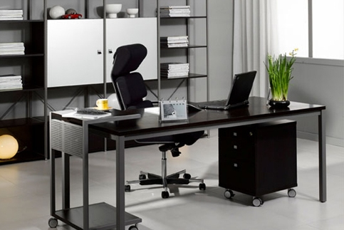 Featured Image of Elegant Office Design Idea