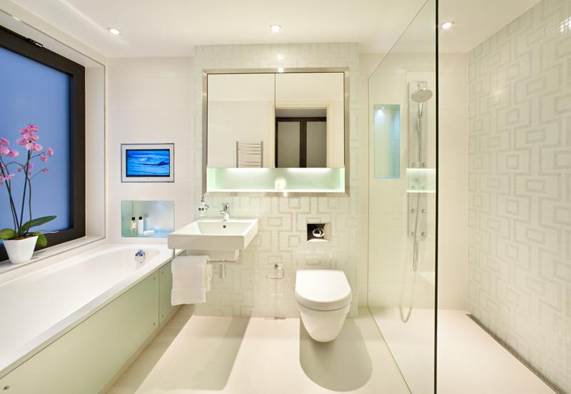 Featured Image of Elegant Shower Bathroom Interior Furniture Ideas