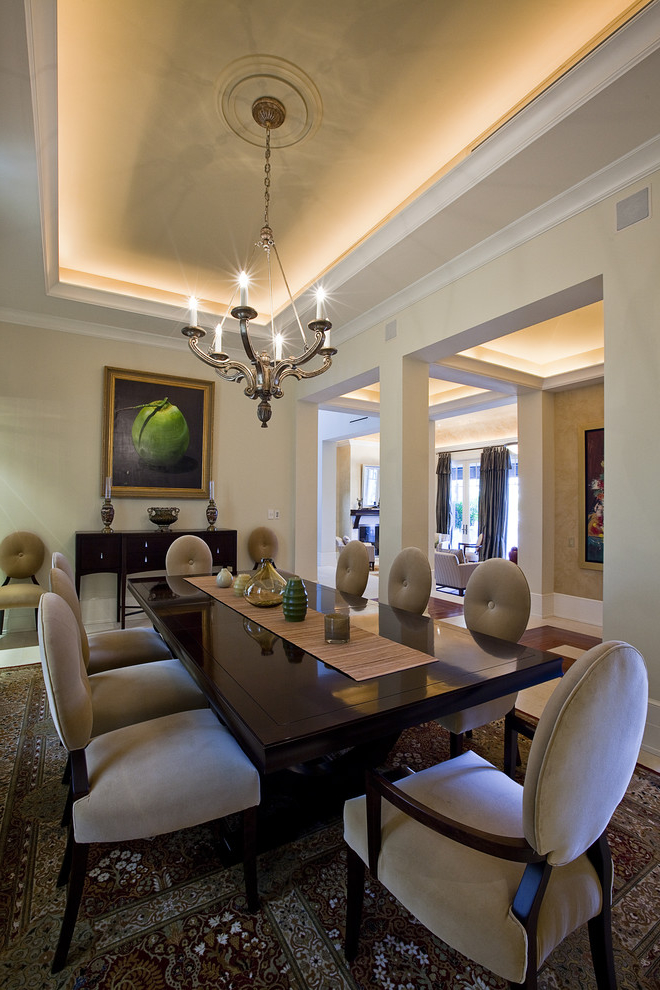 Featured Image of Elegant And Modern Dining Room In Classic Nuance