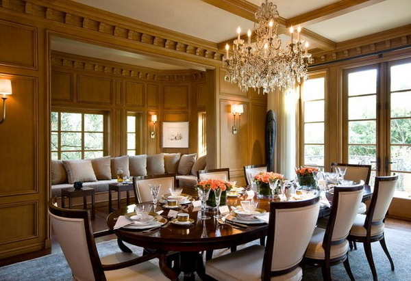 Featured Image of European Dining Room In Luxury Style