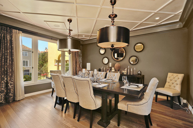 Featured Image of European Dining Room In Modern Elegant Style