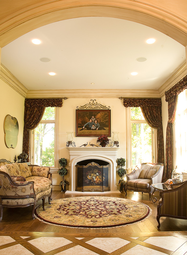 Featured Image of European Living Room In Classic Style