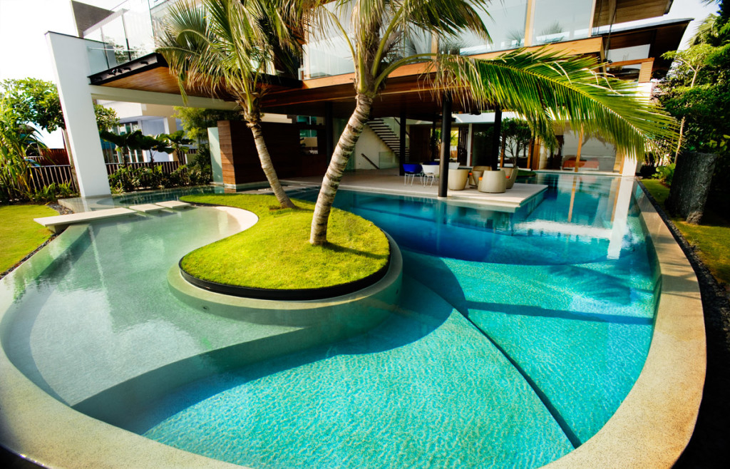 Featured Image of Fantastic Swimming Pool Contemporary Design