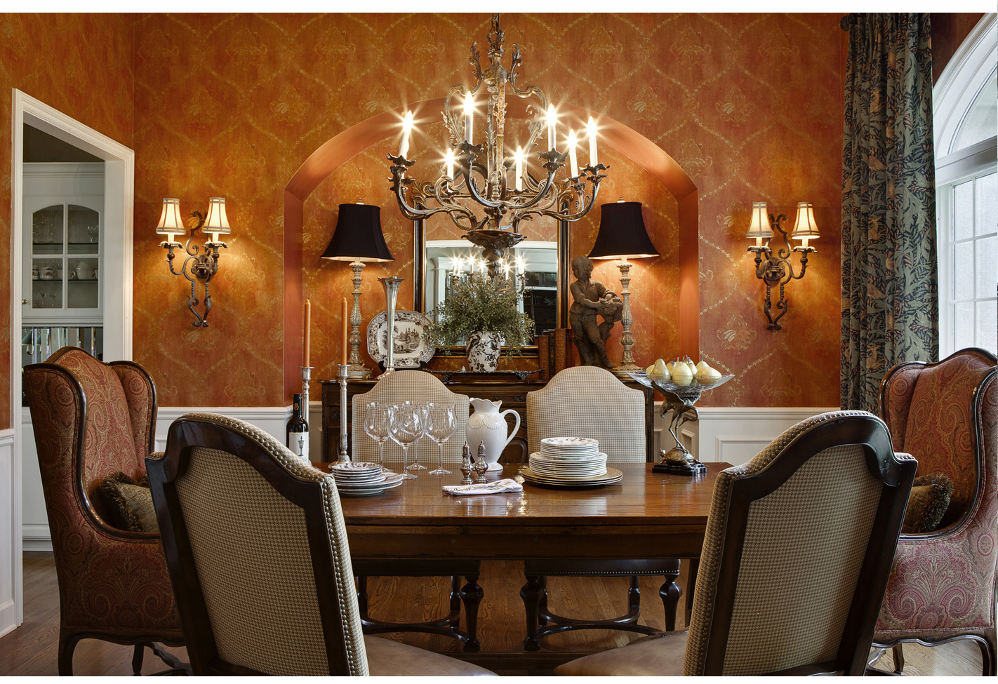 Featured Image of Formal Italian Dining Room Sets