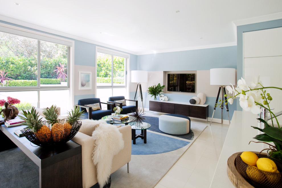 Featured Image of Fresh Tropical Home Living Room Theme