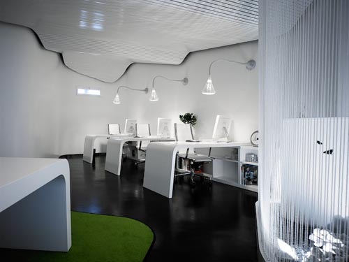 Featured Image of Futuristic Modern Office Designs